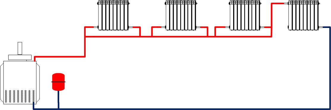 ленинградка - ленинградская схема отопления